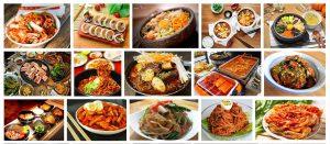 Lớp nấu ăn Hàn Quốc